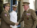 Visita a la sede del Estado Mayor de la Defensa