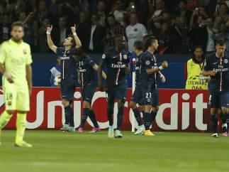 Gol del PSG al Barça