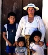 Familia boliviana.