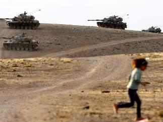 Tanques en Turquía