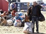 Sigue el drama de los refugiados sirios