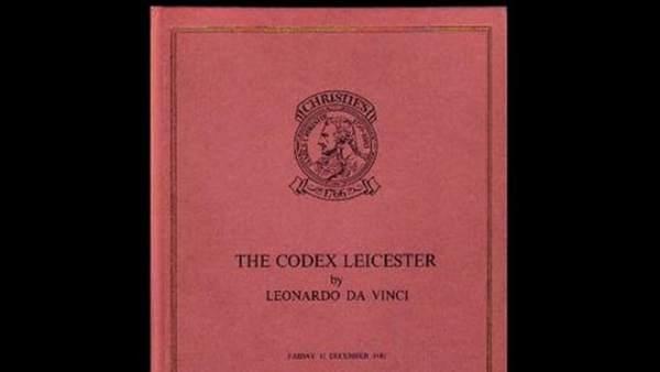 Códice Leicester, de Leonardo da Vinci