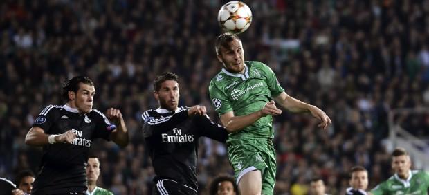 Los goles a balón parado son ya la pesadilla del Real Madrid