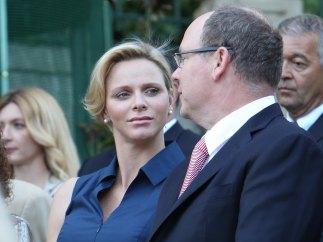 La princesa Charlene y el príncipe Alberto de Mónaco