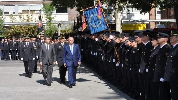 Actos del Día de la Policía, celebrado este 1 de octubre en Madrid
