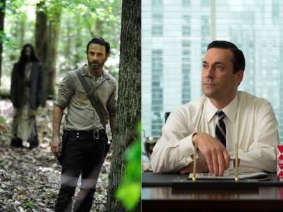 The Walking Dead y Mad Men
