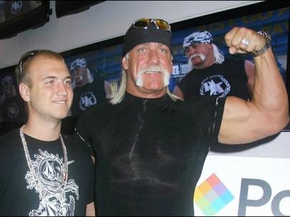 Hulk Hogan y su hijo Nick