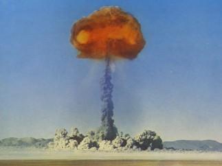 Atomic Postcard - Explosion at Yucca Flat, n.d.