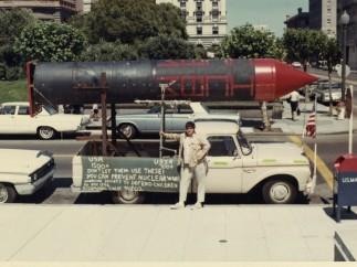 Photographer Unknown, Anti-Nuclear Bomb War Protest Sign, July 1967