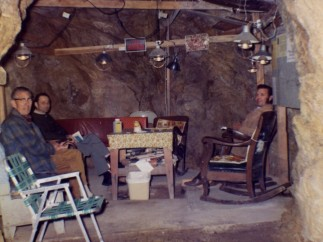 Photographer Unknown, Cave Bomb Shelter, June 1972