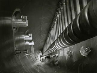 University of California, Interior of Heavy Ion Linear Accelerator, UC Berkeley, 1971