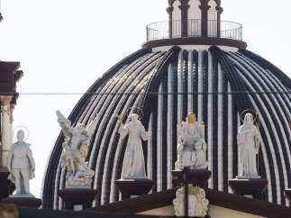 Fachada de la Iglesia de El Palmar de Troya en Utrera.