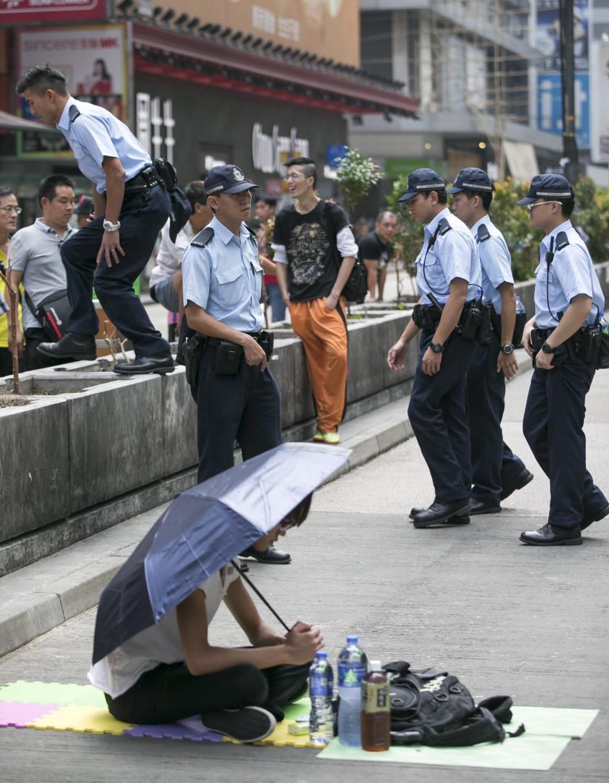 Movimiento occupy central
