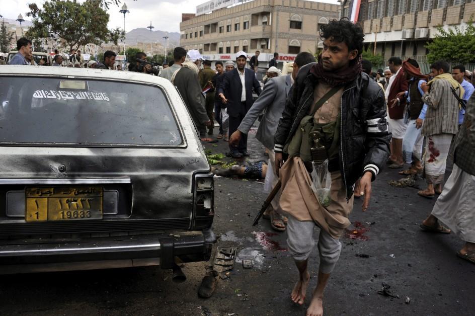 Atentado suicida en Saná