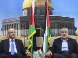 Reunión entre Rami Hamdala e Ismail Haniye