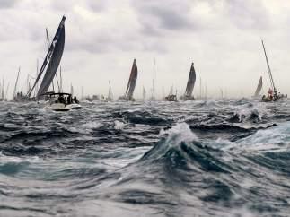 Salida de la Volvo Ocean Race