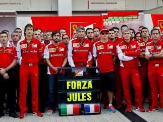 Ferrari recuerda a Bianchi