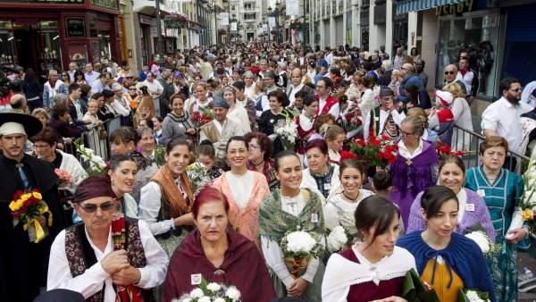 Ofrenda de Flores en Zaragoza