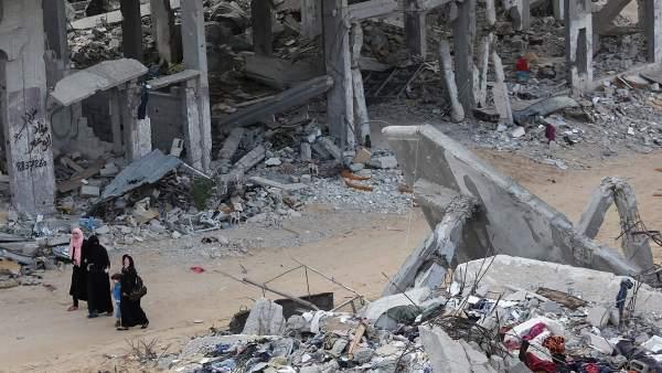 Gaza, en ruinas