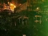 Una terraza destrozada