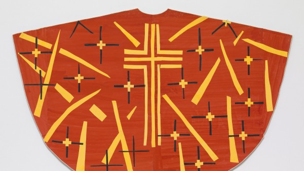 Maquette for Red Chasuble (front). late 1950-52