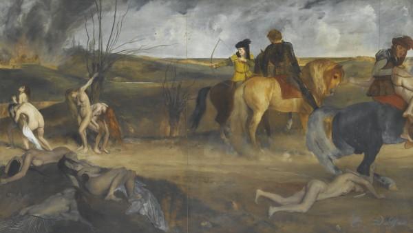 Edgar Degas - Scène de guerre au Moyen-âge, 1865