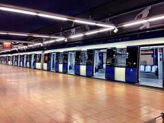 Los maquinistas de Metro de Madrid inician una huelga hasta el domingo