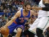 Calderón en los Knicks