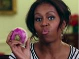 Michelle Obama baila con un nabo