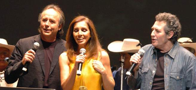 Serrat, Ana Belén y Víctor Manuel