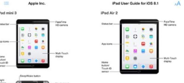 Los nuevos iPad mini 3 e iPad Air 2, confirmados por Apple de forma oficial por accidente
