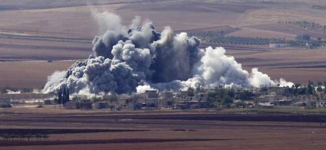 Ataques aliados contra Estado Islámico