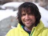 Álex Txikon, posa durante una de sus expediciones