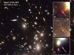 Hubble capta una galaxia a 13.000 millones de a�os luz