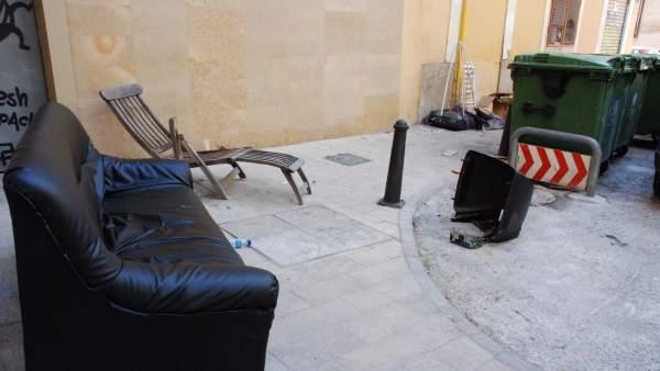 Servicio recogida de muebles valencia