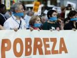 Protesta contra la pobreza
