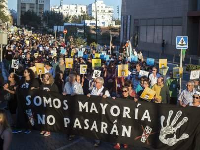 Protesta en Canarias