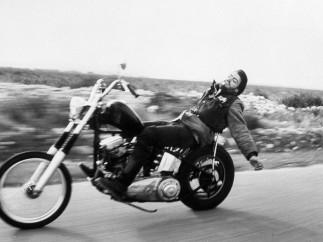 A classic MID-1960S 1%er club bike