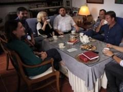 Comida familiar de �vole con Oriol Junqueras