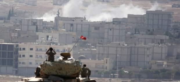 Kobani bajo asedio