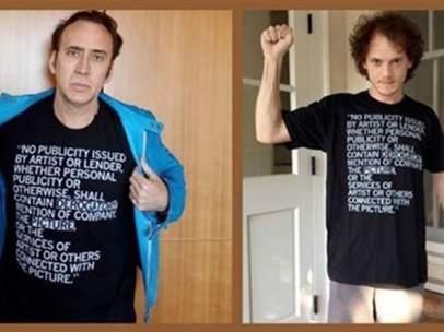Nicolas Cage y el equipo artístico de 'Dying of the Light'.