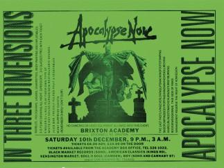 'Apocalypse Now', Brixton Academy