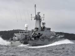Submarino ruso en Suecia