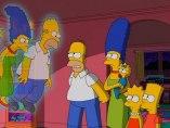 Los Simpson se encuentran con su versi�n de 1987