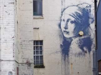 Mural de Bansky en Bristol.