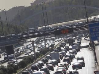 Episodio de alta contaminación en Madrid