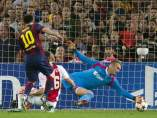 Gol de Messi al Ajax