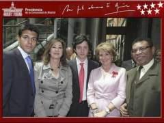 """Esperanza Aguirre dice que """"le suena"""" la cara del 'peque�o Nicol�s'"""