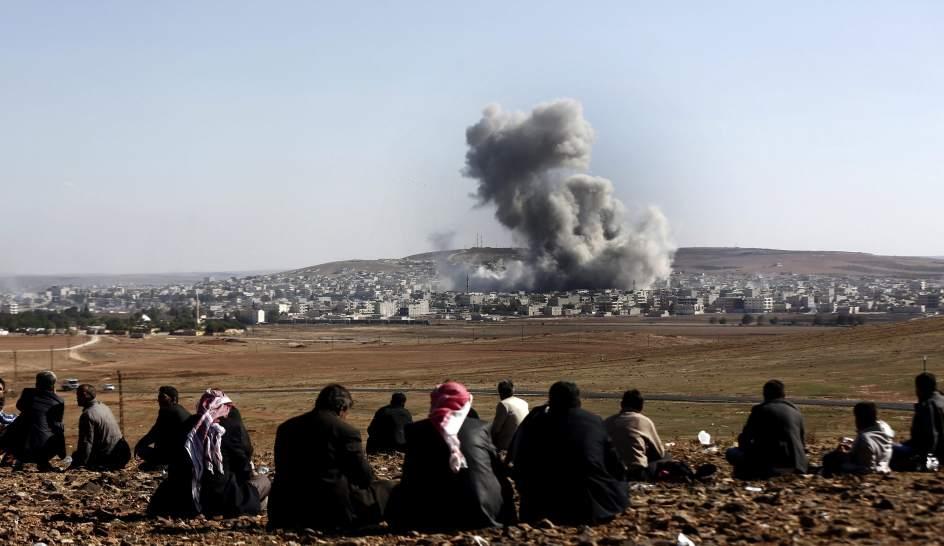 Kobani, aún bajo el fuego
