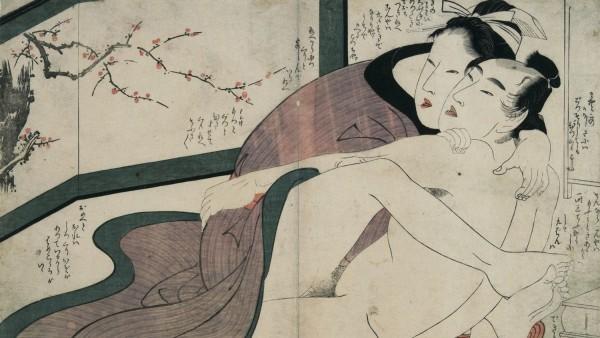 'El arte del amor en el tiempo de las geishas', las ilustraciones eróticas sin tabúes de Japón